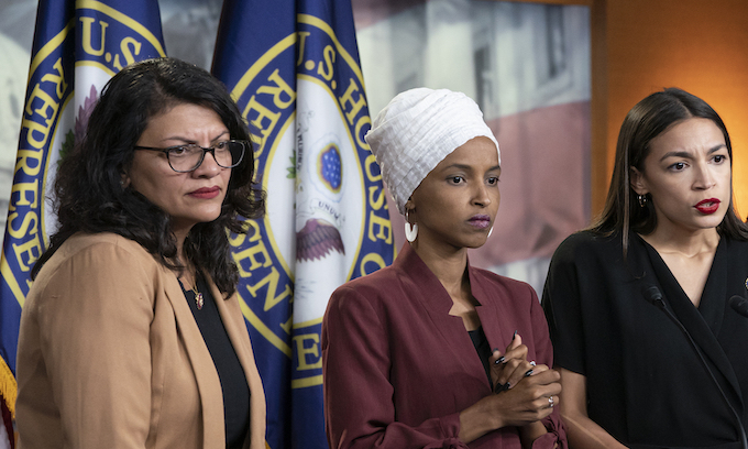 Tlaib, Omar and Ocasio-Cortez dominate the Democrats as Pelosi watches