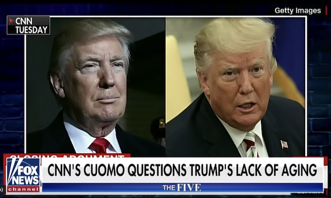 Chris (Fredo) Cuomo attacks Trump for not aging as fast as past presidents