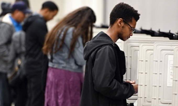 Georgia voters challenge legality of new election system