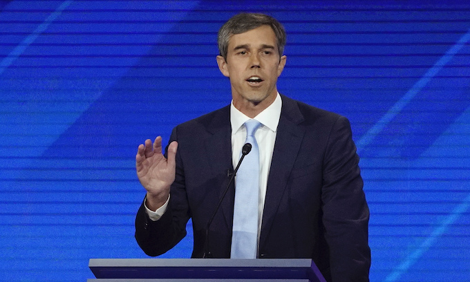 O'Rourke: Hell yes, we're going to take your AR-15, your AK-47