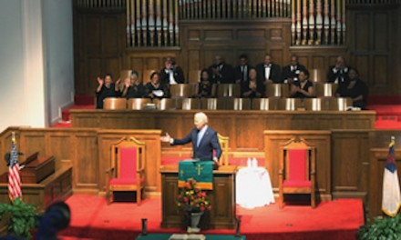 Same ol' Biden, campaigning at Birmingham church, says white people 'can never fully understand'