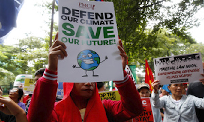 Thousands join climate strike before UN summit