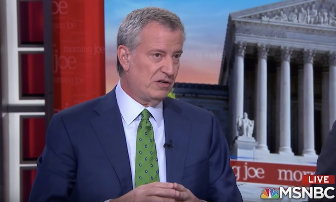 With only .02% support de Blasio ends vanity run for presidency
