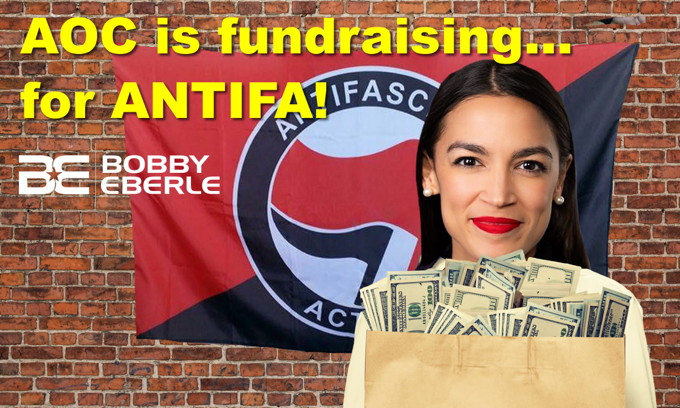 AOC, Squad are fundraising… for ANTIFA! Whoopi Goldberg speaks out FOR President Trump?