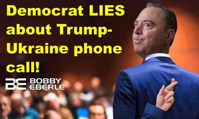 Dem. Schiff blatantly lies about Trump-Ukraine; 'Feel Good' story ruined by local media