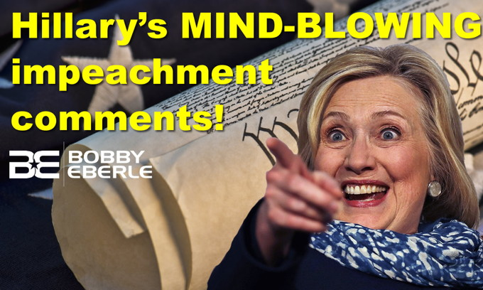 Hillary's MIND-BLOWING impeachment comments! Women, men in rugby; guess what happens next?