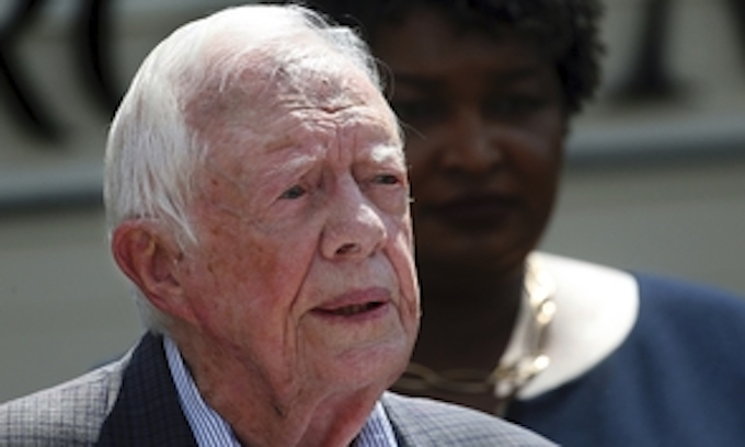 Jimmy Carter: 'I hope there's an age limit' on the presidency