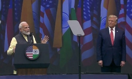 Trump touts Indian PM Narendra Modi as he courts voters in Houston