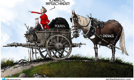 Democrats, on impeachment, put cart before horse