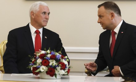Mike Pence hails Poland, its people in World War II commemoration ceremony