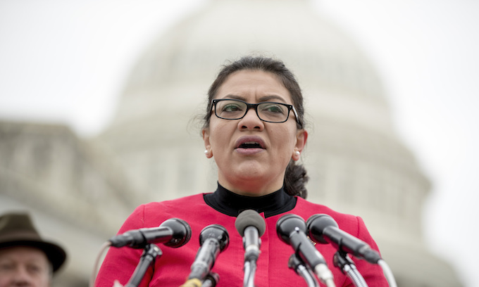 Rashida Tlaib special guest at event hosted by controversial Palestinian American activist