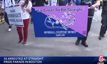 Antifa, LGBTQ… attacks straight pride parade in Boston