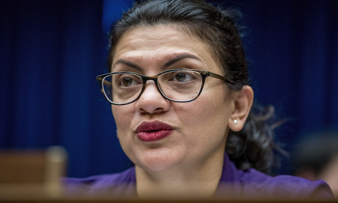 Rashida Tlaib part of fight to end DNA collection from illegal aliens