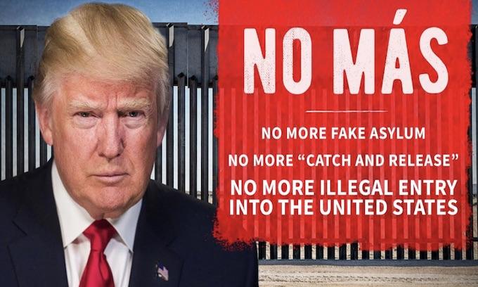 Trump visits new border wall; cites national emergency