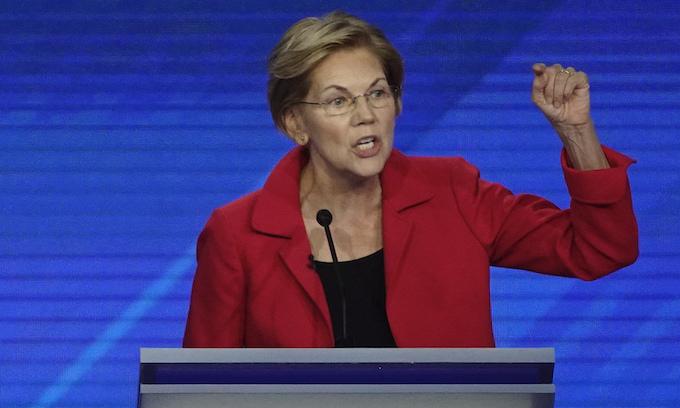 Elizabeth Warren's gasp-worthy slap at the rich