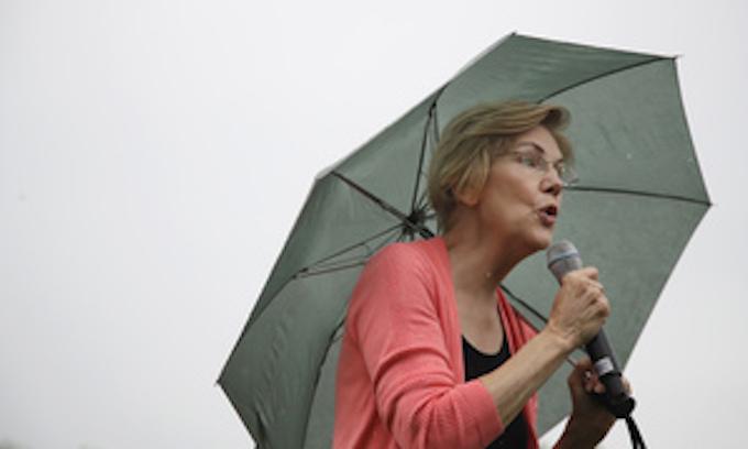 Elizabeth Warren remains a factor by not endorsing