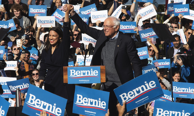 Bernie Sanders turns to the Squad for far-left boost, to Trump's delight