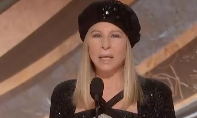 Barbra Streisand tweets gruesome cartoon of Trump impaled by Pelosi stilettos