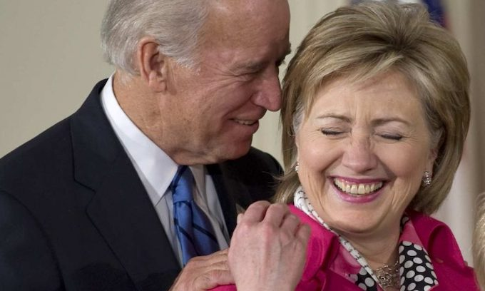 Hillary Clinton to voters upset about Joe Biden's touchy, feely ways: 'Get over it'
