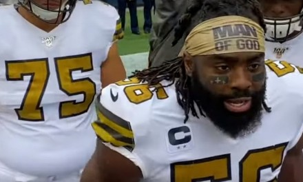 NFL backs down on $7K fine for wearing 'Man of God' headband