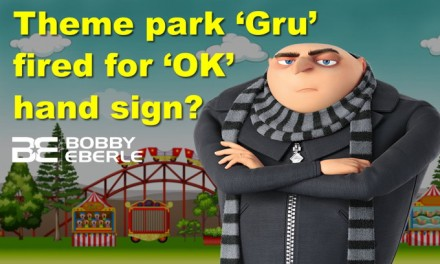 Theme park actor FIRED for making OK symbol? AOC told that babies will fix climate crisis