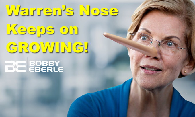 Elizabeth Warren's nose keeps on growing! The NBA's 'wokeness' takes a backseat to China?