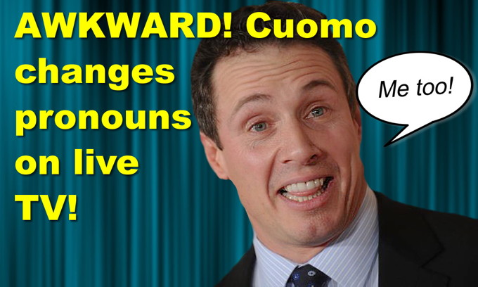 AWKWARD! CNN Cuomo changes pronouns on live TV! Clinton says she can beat Trump… again?