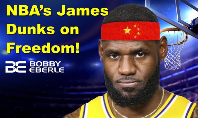 NBA's Lebron James dunks on FREEDOM, sides with China; Democrats debate Trump impeachment