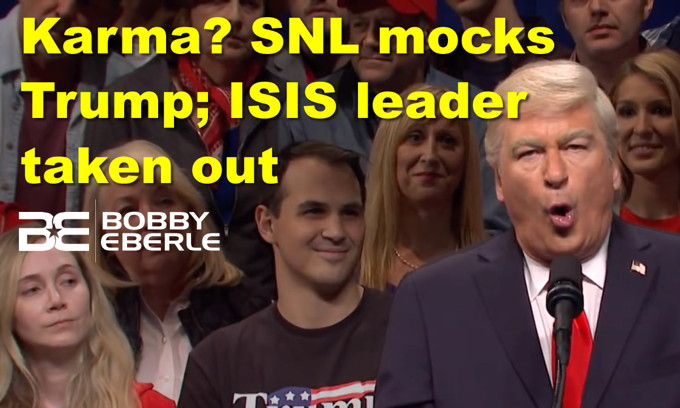 Karma??? SNL mocks Trump on day that ISIS leader is taken out; Is AOC's 15 minutes over?
