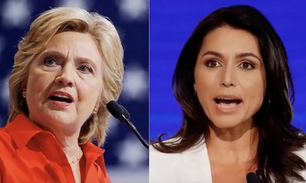 Tulsi Gabbard: 'Everybody knows and understands' that Hillary Clinton is a 'warmonger'