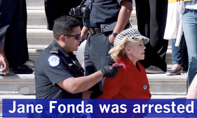 Jane Fonda's New Socialist Stunts