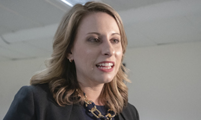 Katie Hill refuses responsibility