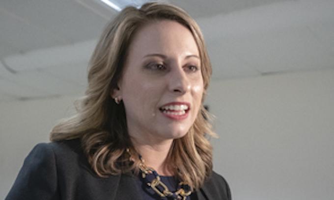 Throuple Democrat blames men and Republicans for her resignation
