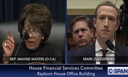 Maxine Waters chastises Facebook's Zuckerberg for providing a 'platform to lie, mislead and misinform the American people'