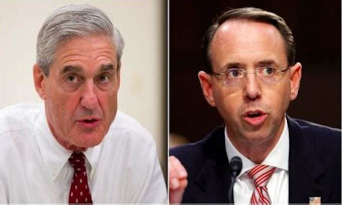 Rosenstein – Mueller emails reveal Trump-Russia probe secrecy