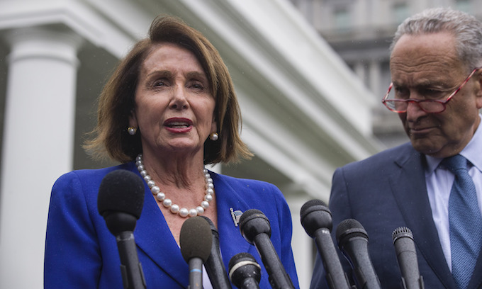 Pelosi holds House vote to rebuke Trump on Syria before walking out of White House meeting