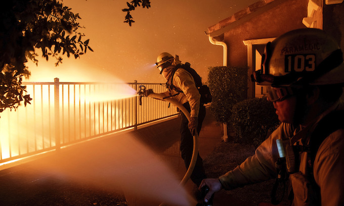Fires in California? It's not climate change, it's government