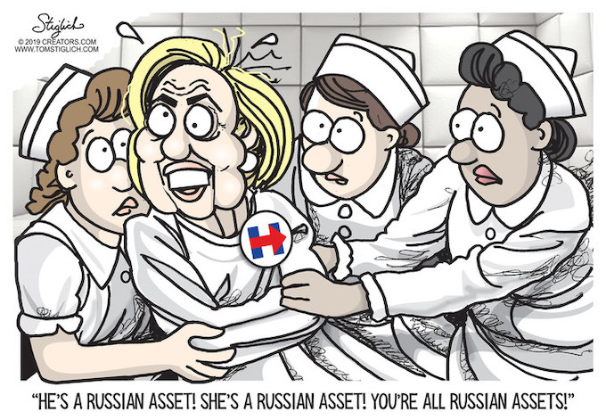 Time for the straitjacket!