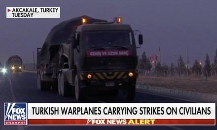 Turkey launches military assault in Syria as Kurdish fighters say warplanes are bombing region