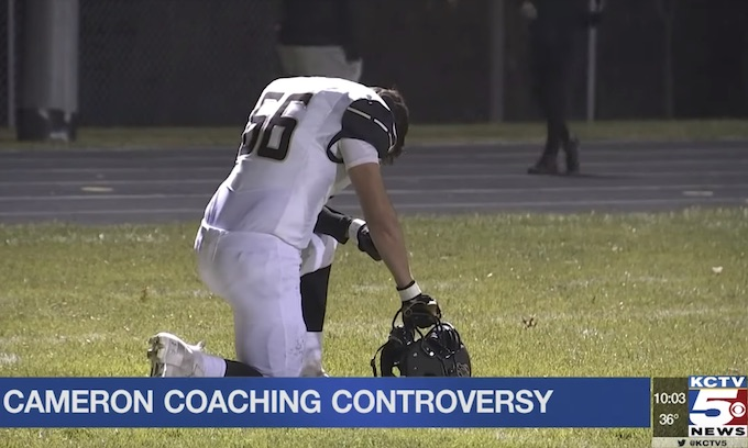 Atheists threaten another praying coach and team