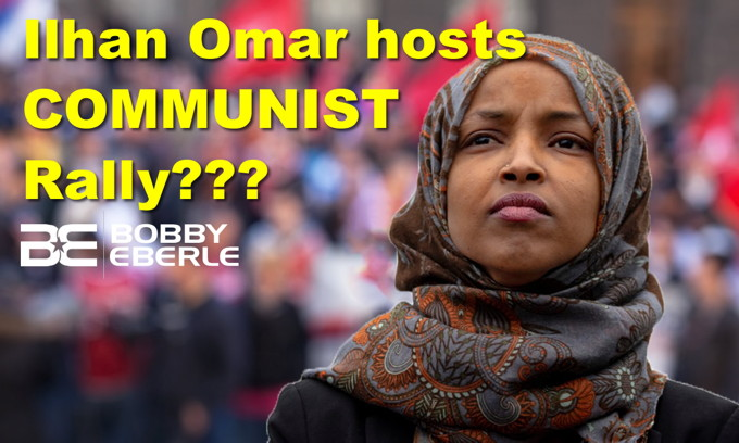 Ilhan Omar, Bernie Sanders host communist rally? Apparently, men can get pregnant too!