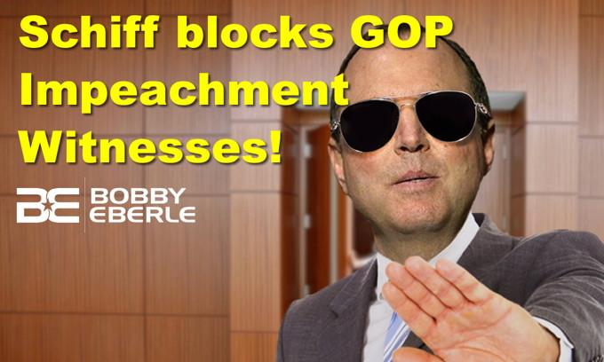 Democrat Schiff blocks GOP impeachment witnesses! Sanders pushes another socialism plan