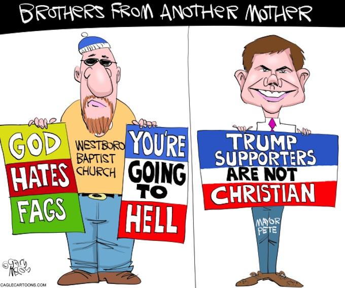 Pete the Bigot