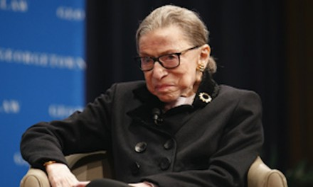 Supreme Court says Ginsburg home sick with stomach bug