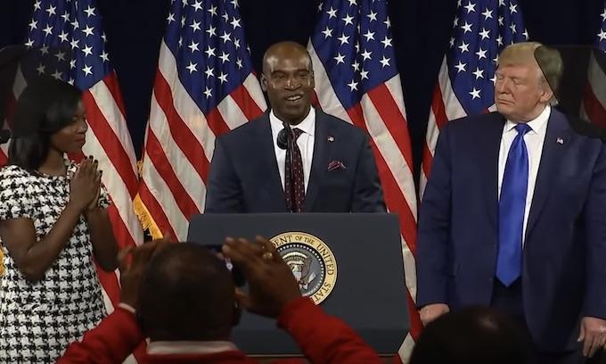 Black voters rally behind Trump