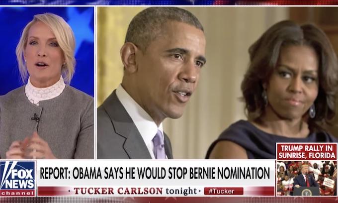 Tucker Carlson: Barack Obama might endorse wife Michelle in 2020 race over Joe Biden