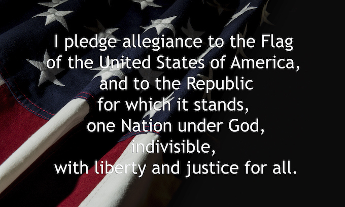 University purges Pledge of Allegiance for not being 'inclusive'
