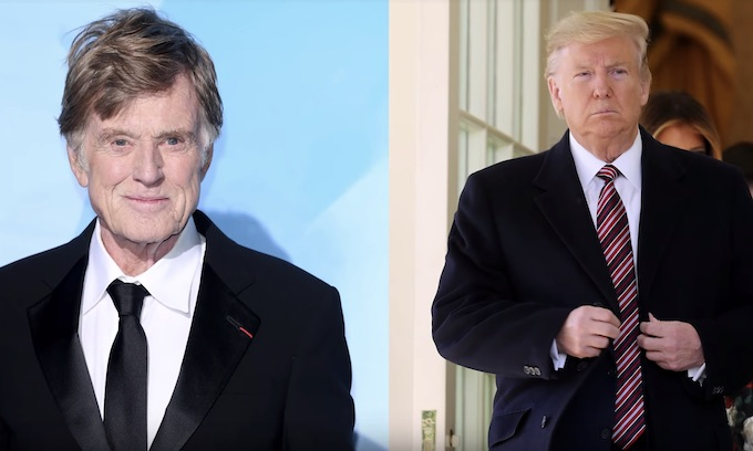 Robert Redford slams Donald Trump's 'dictator-like attack' on democracy: 'We're up against a crisis'