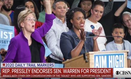 Ayanna Pressley endorses Elizabeth Warren for president, breaks with 'Squad'