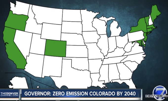 Californication: Colorado feels leftist influence on electric cars, National Popular Vote